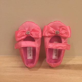 US imports handmade fashion toddler shoes (pink paragraph)
