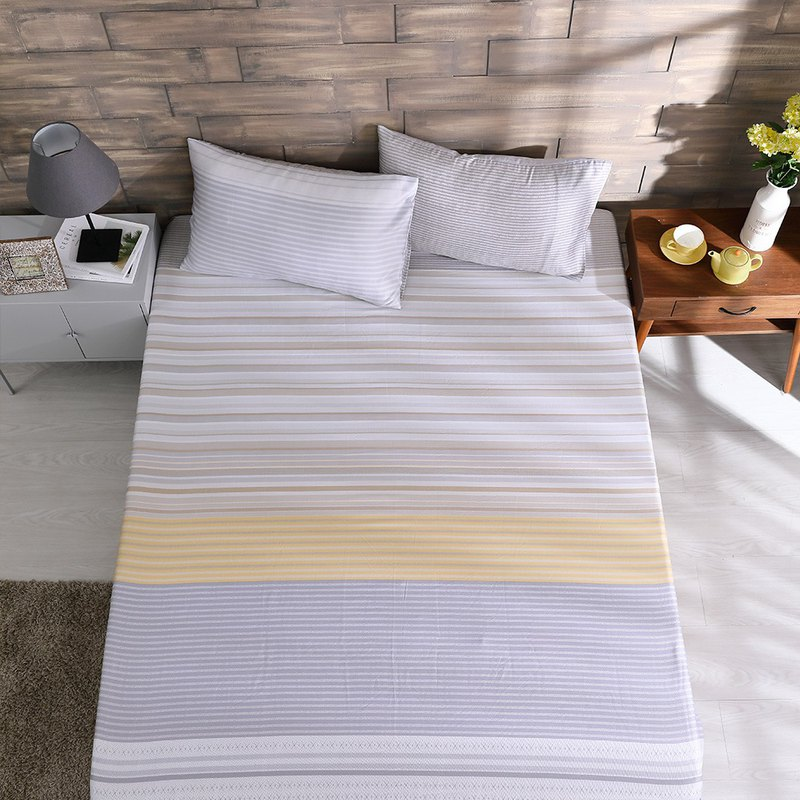 Sensibility and rationality - single tencel bed pillowcase three-piece set [40 100% lyocell] 3.5*6.2 feet