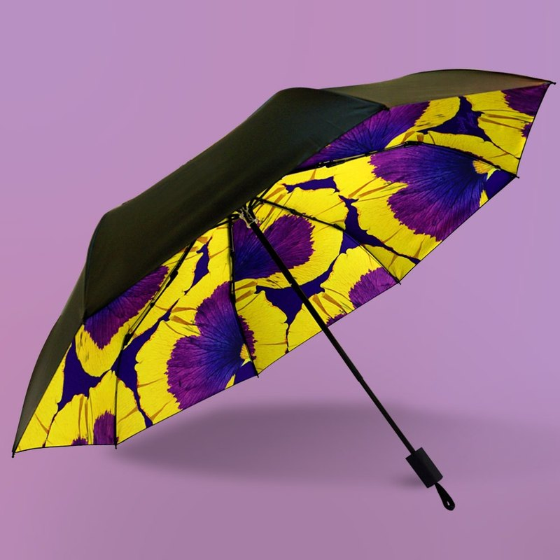 Petal-wrapped Vinyl Umbrella/Sunshine Umbrella