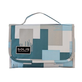 SOLIS [ Camouflage Series ] Passport case(sky blue)