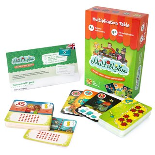 THE BRAINY BAND - Magic Flower Shop - Russian Kids Board Game - Strengthen STEAM Education