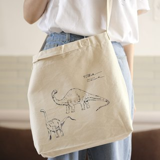2 dinosaur green shopping bags