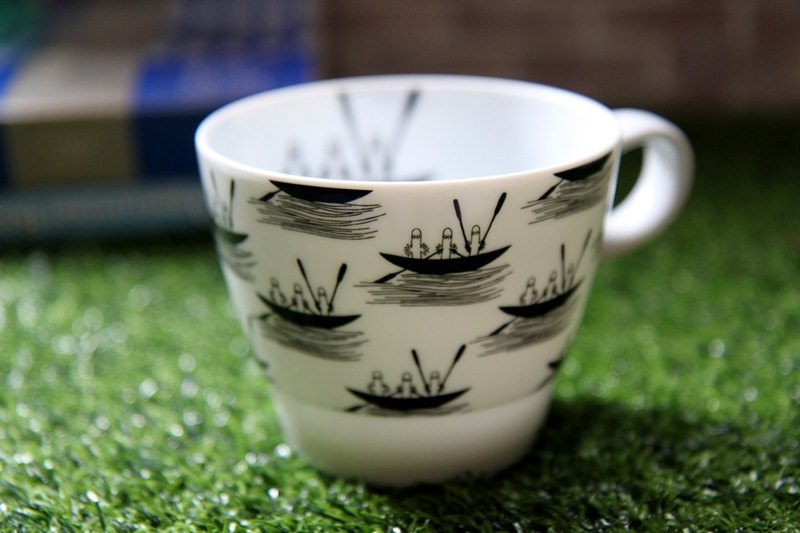MOOMIN 噜噜米-Geometry Series Mark & Coffee Cup (yo)