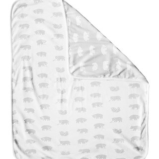 Cubs Organic Cotton Blanket (White Edge) – BJÖRN ECO CHILD BLANKET (white edge)