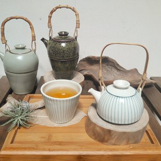 [Taiwan off blue] Wang Fu*urn pot (Wang pot + blessing cup + Wang Wei small cup*2) tea wine 4 sets