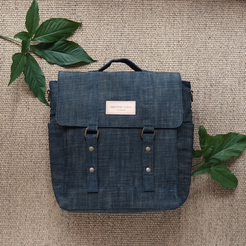 KELLY BAG - Denim