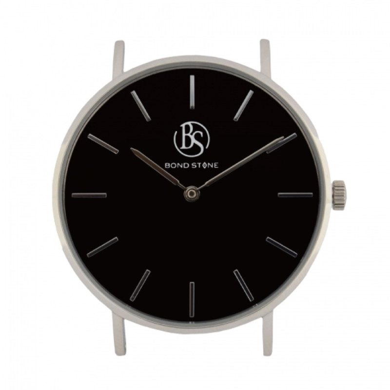 BOND STONE SHINE ONYX 36mm watch body only (belt optional)