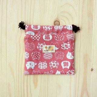Lucky Cat Bunch Pocket (Small)