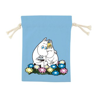 Moomin 噜噜米授权 - Color Drapery Pocket -【 Fall in love (水蓝)】, CB6AE01