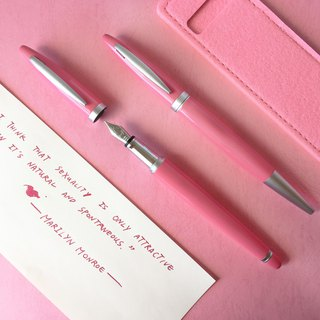 ARTEX life happy pen + ball pen double pen luxury group - 窈窕 lady