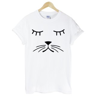 Whiskers Cat T-shirt -2 color beard canine dogs and cats Wen Qing art design fashion fashionable word