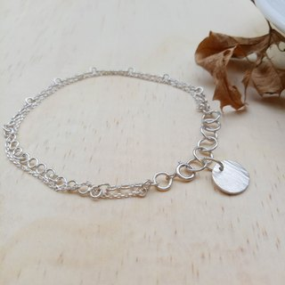 [Hongsheng jewelry] with a row of bracelets in sterling silver