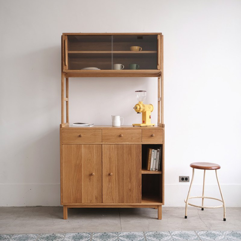 Multifunctional storage solid wood cabinet (type, size can be customized)