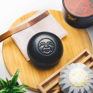 In the dream of building charcoal cleansing soap. Meng Zong bamboo charcoal oil control muscle [Dachun refining soap DACHUN] 100g