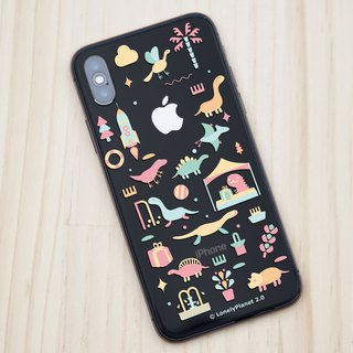 Lonely Planet 2.0 Mobile Shell - Dinosaurs Go to the Fair - Transparent (Custom)