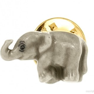 Nach Bijoux elephant brooch Christmas gift