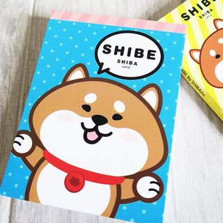 SHIBAinc, SHIBE Note Pad, Notebook, NotePad, Note, memo pad, memo book
