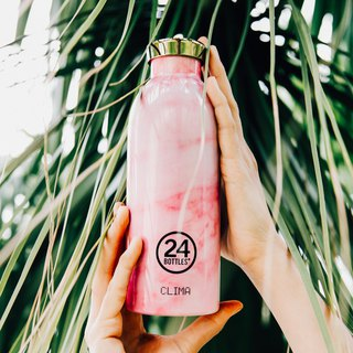 New 24Bottles Clima Marble Pink (500ml) - Warm 12hr cold 24hr
