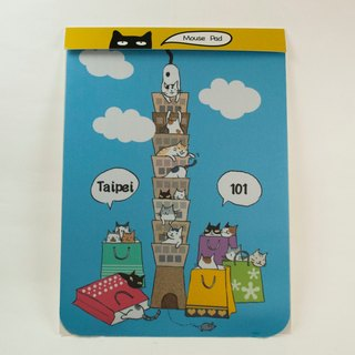 Three cat shop ~ Taipei 101 mouse pad
