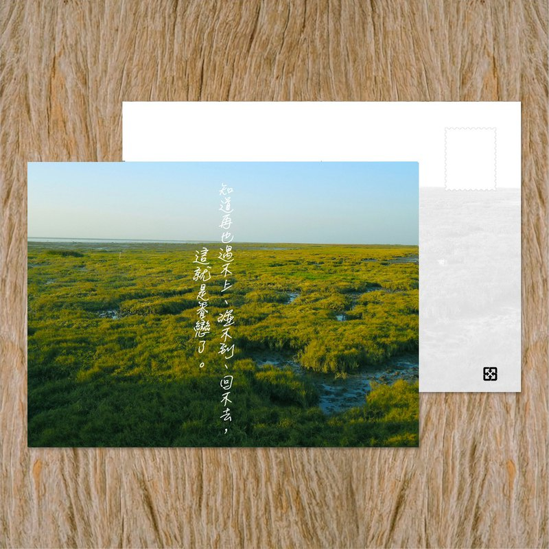 Postcard / This is the love / Taiwan positive energy corner inspirational series / buy 10 get 1