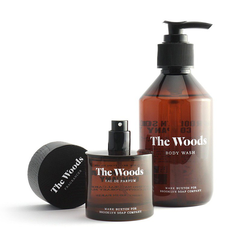 The Woods 紳士沐浴精香水組 by Brooklyn Soap Company