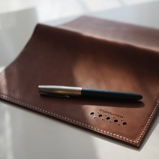 Leather Journal Case with MOLESKINE notebook - L041