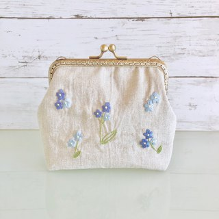 Order Production frame purse L Forgetmenot