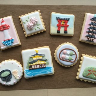 [NIJI Cupcake] Kyoto-style sugar cookie eight combinations