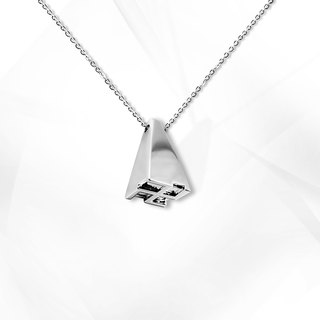 VOSHAS ZEN Collection 925 Sterling Silver Necklace