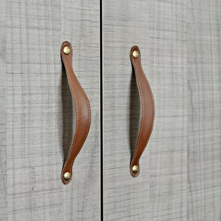[OpenLife] leather handle wardrobe cabinet leather handle can be customized system cabinet