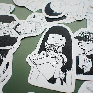 SAKOSTUDIO | 99/100 Series | Sticker Sticker 99pcs