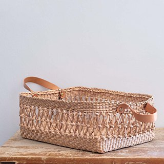 Rectangular fishing net basket