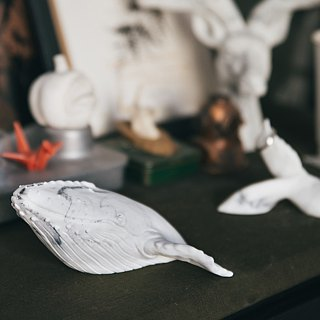 Marble。Home decoration。Whale