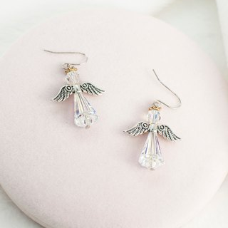 Guardian Angel Earrings (5 colors) Swarovski