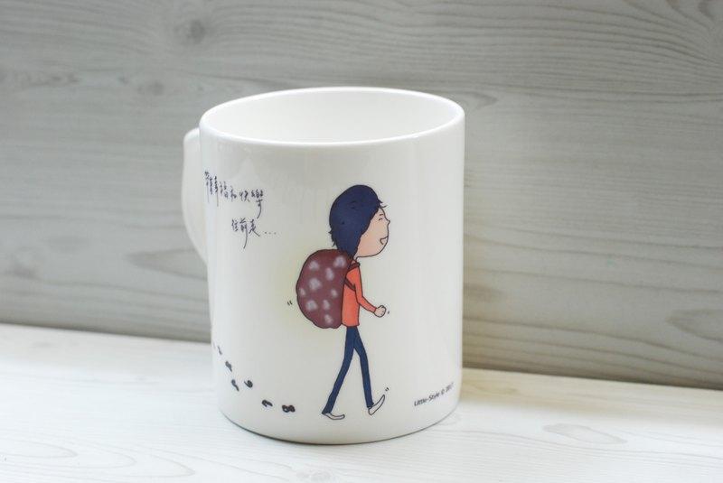 骨瓷馬克杯-幸福和快樂(客製)