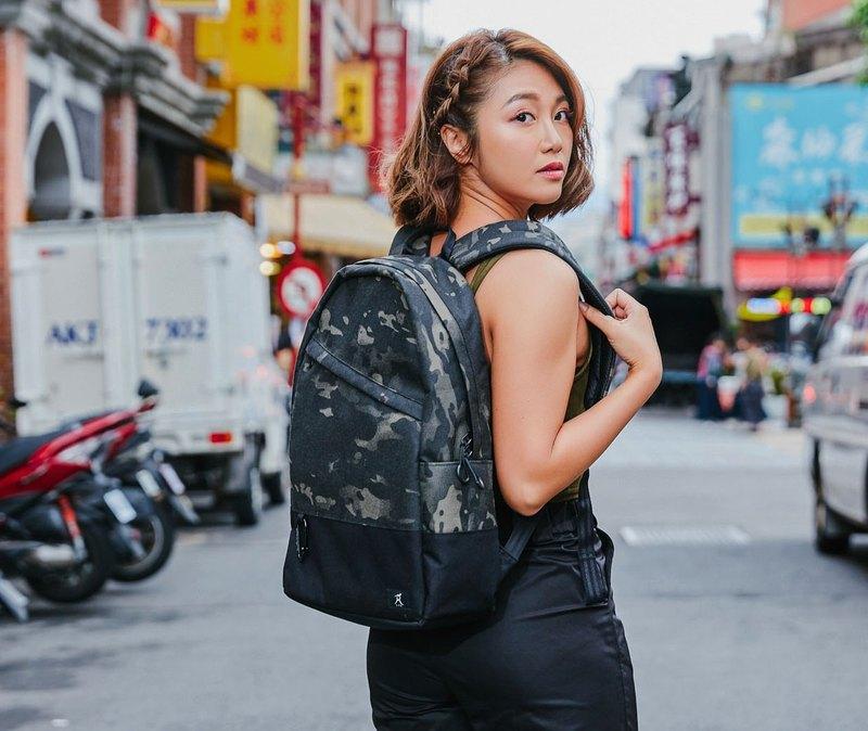 Civic-Camo 都市後背包 迷彩 書包 禮物 校園包 男女 推薦 S.Y.E