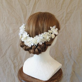 White & White & White Head Dress