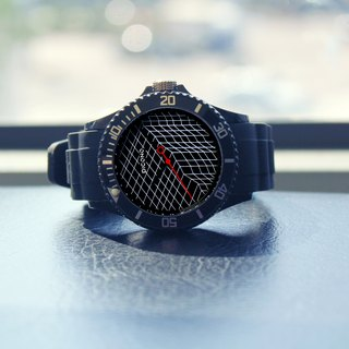 【PICONO】Escape of Numbers Sport Watch - Black / BA-EN-03