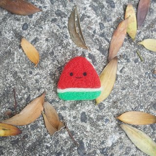 【Q-cute】 Season Series - Summer - Mini Watermelon - Needle / Brooch
