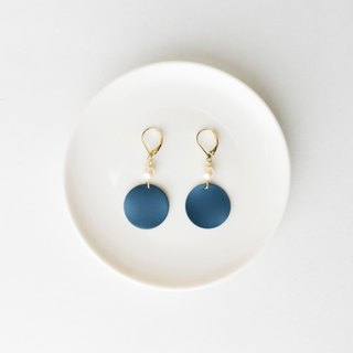CircleDot Azure Blue Pearl Artichoke Earrings Earrings Earrings Earrings