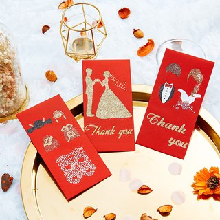 Rhinestones Red Envelope-Marry