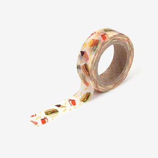 Dailylike single roll of paper tape -111 Hamburg dinner, E2D03930