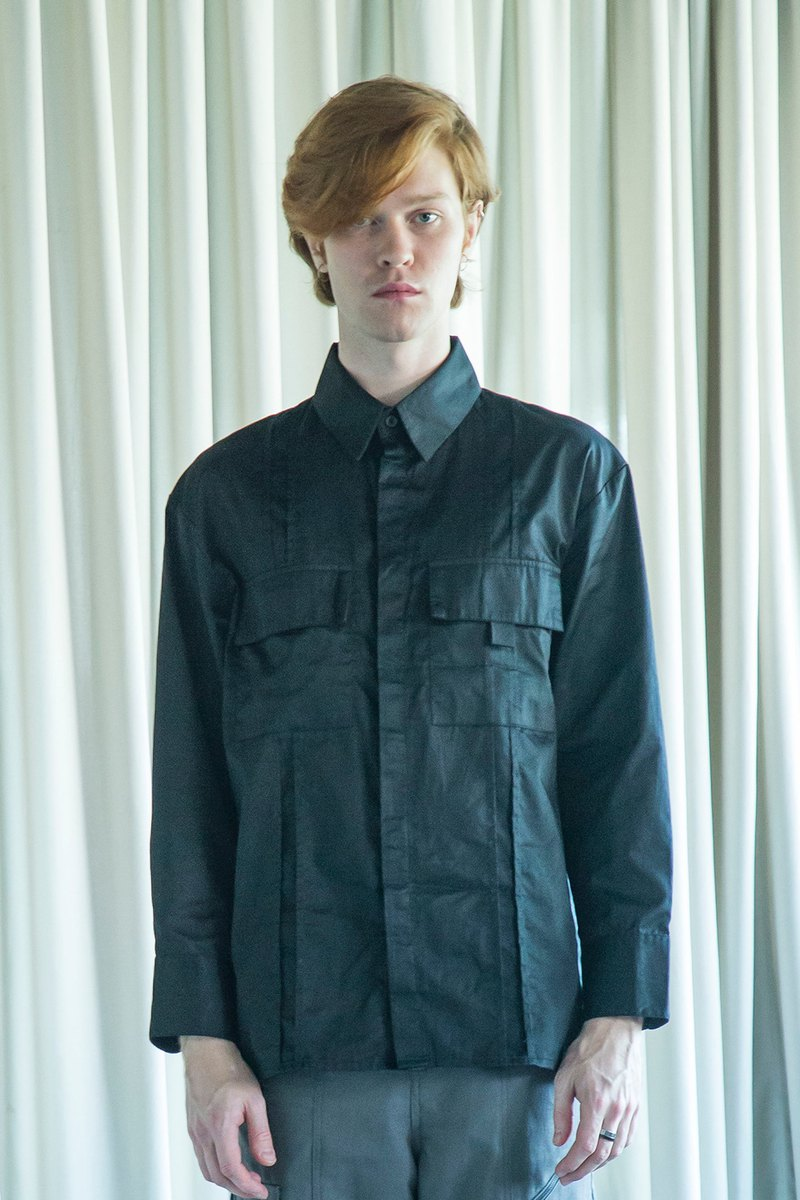 nowherelse - 寬鬆雙胸袋襯衫