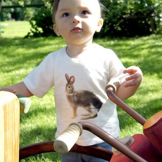 Taiwan Hare T-shirt (Child-Male Rabbit)