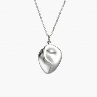 P & I handmade silver jewelry # solid sense - Klimt <Golden Kiss> small section S