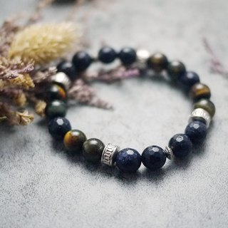 V-CIRCLE natural stone bracelet - Orion knowledge - career noble