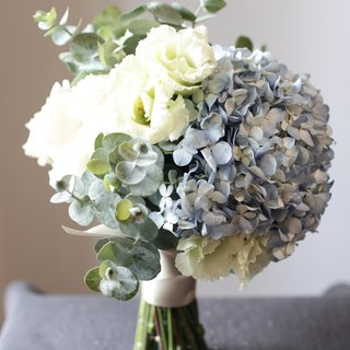 Rose Embroidered Bridal Bouquet