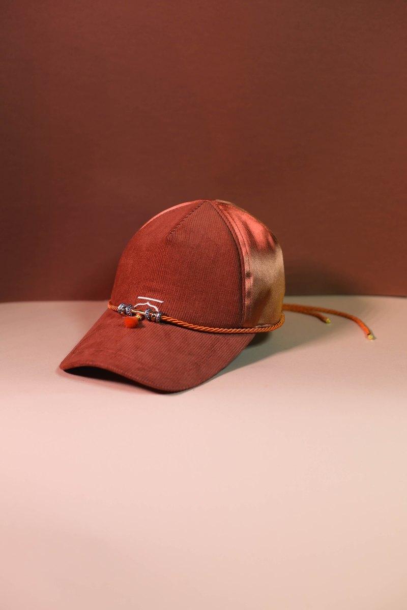 74cae5755be9 Orange customise moroccan cap and choker - Moroqshade - Designer Kodangs