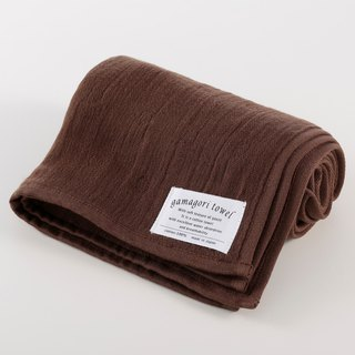 [Japan-made Gamagori] new, thin six-colour yarn towel - alcohol cocoa