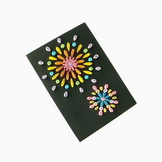 Hand made decorative cards-Fireworks